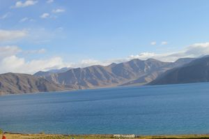 Pangong Tso memorable for lifetime