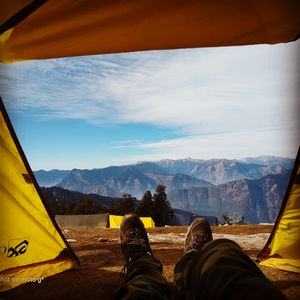 Sweet sunrise from kedarkantha summit(6 pics) #UltimateView #viewfromthetop
