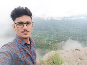 Fog everywhere but get chance to click selfie with amazing view #SelfieWithAView #TripotoCommunity