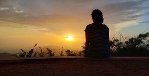 Sunset at Dhupgarh, Pachmarhi, Madhya Pradesh
