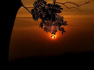 Sunset at Durga Tekdi, Pune