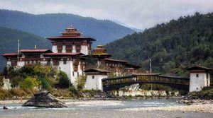 Nerd's Eye View : Punakha, Bhutan