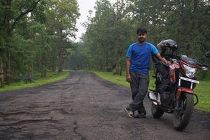 Sunday bike ride to Amarkantak!
