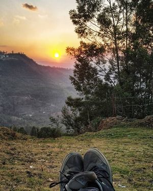 Sunset at Kodaikanal
