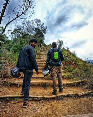 Munnar Trekking scenes