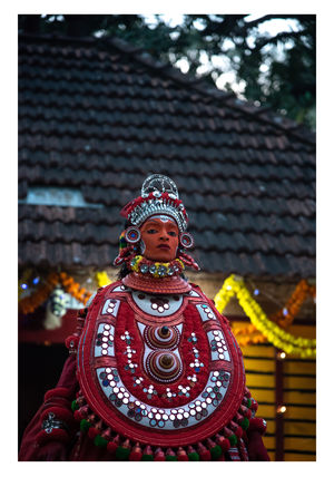 From Man to God -Theyyam the making