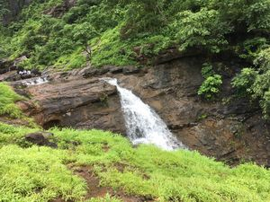 A road trip with friends at Ganesh Water Fall