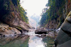 Mesmerizing Akashi Ganga near Likabali in Arunachal Pradesh...