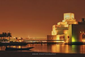 Got am amazing shot from Museum of Islamic Art, Doha
