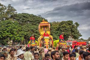 The Mysore Maharaja's Dusshera