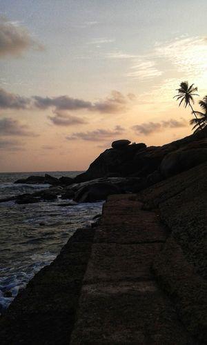 Evening at Vengurla