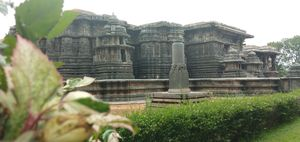 "The regal capital of the Hoysala Empire in the 12th century--""Halebidu"""