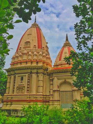 A Peaceful Ghaat At Haridwar