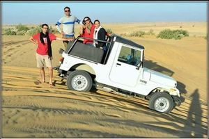 Jaisalmer Robin desert safari camp sam Jaisalmer