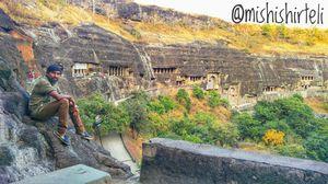 A Visit To Ajanta Caves (Aurangabad)