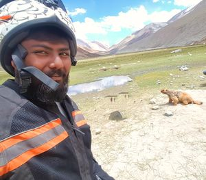 He is selfie addicted  #Selfiewithaview #tripotocommunity
