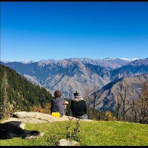 Expedition on Phulara ridge trek n!!