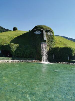 Swarovski crystal world n Interlaken
