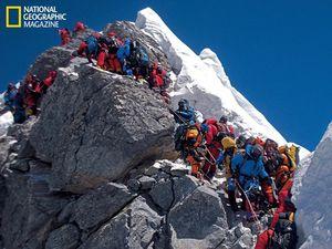 माउंट एवरेस्ट पर लगा जाम :11 मौतों के बाद नेपाल सरकार ने लिए कुछ अहम फैसले..