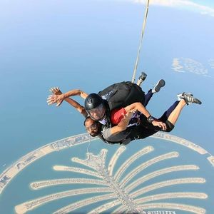 Skydive from 15000 ft above Off the bucket list....#Skydive dubai