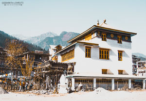 Gadhan Thekchhokling Gompa Monastery in Manali | Siddharth and Shruti