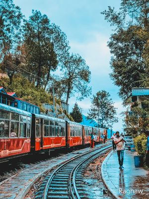 A Scenic Once-in-A-Lifetime Train Journey:Kalka to Shimla