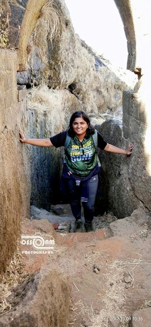 Harihar Fort Trek-Stairway to Heaven