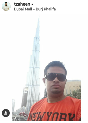 Stand Tall with the tallest structure #SelfieWithAView #TripotoCommunity