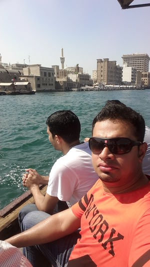 Ride between old dubai & new dubai #Traveldiaries #dubai #SelfieWithAView #TripotoCommunity
