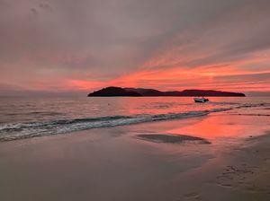 Beautiful Sunset at Langkawi island,Malaysia....