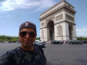 #SelfieWithAView #TripotoCommunity #Paris #VivoS1 #BeautyAtItsBest