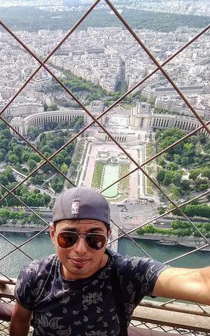 Up So High!   #SelfieWithAView #TripotoCommunity #VivoS1 #Paris #France