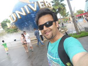 A studio that defines Universe :) Here is My #SelfieWithAView for #TripotoCommunity ...