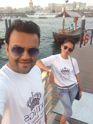 Dubai journey is never complete without Traditional Abra :) #SelfieWithAView #TripotoCommunity