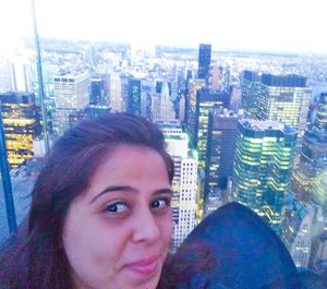 Solitude selfie at one of the romantic spots in the world! #SelfieWithAView #TripotoCommunity