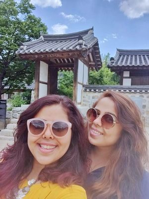 Embracing the Korean culture!  #SelfieWithAView #TripotoCommunity