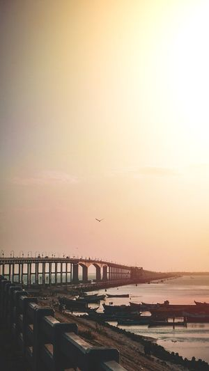 Dont miss the sunset view from Pamban bridge when u visit Rameshwaram.