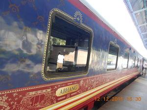 Travel like the Maharajahs: Deccan Odyssey #LuxuryTripIndia