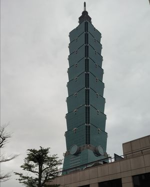 Riseing above .....Taipei101. An engineering Feat