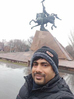 Cool selfie in Yerevan #SelfiewithAview #TripotoCommunity