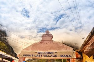 Mana- The last Village of India