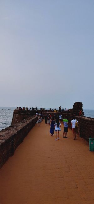 Evening by Lower Aguada, Goa