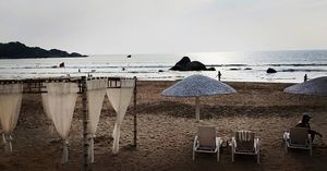 "The white resort : ""Agonda Beach, Goa"""