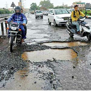 Sad story of Bangalore roads