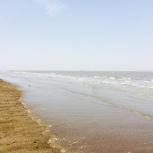 Hot water of Bhavnagar Beach