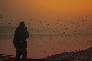 A Morning at Yamuna Ghaat, Delhi