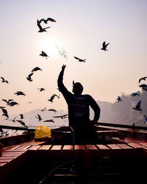 Early morning in yamuna ghat (Delhi)
