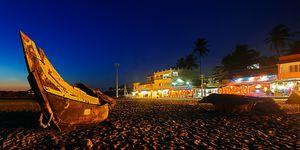 Throwback @2k17....night out at lighthouse beach kerela.....