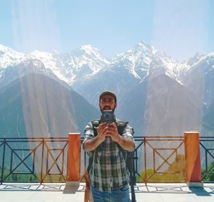 The Mirror selfie with Kinner Kailash  #SelfieWithAView #TripotoCommunity