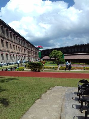 The Kala Pani Jail of Andmans.. A Historical Beauty Redefined...#PortBlair #Andaman& Nicobar Islands